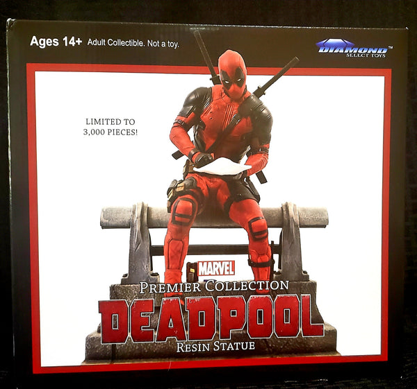 Diamond Select Marvel Premier Deadpool Movie Statue