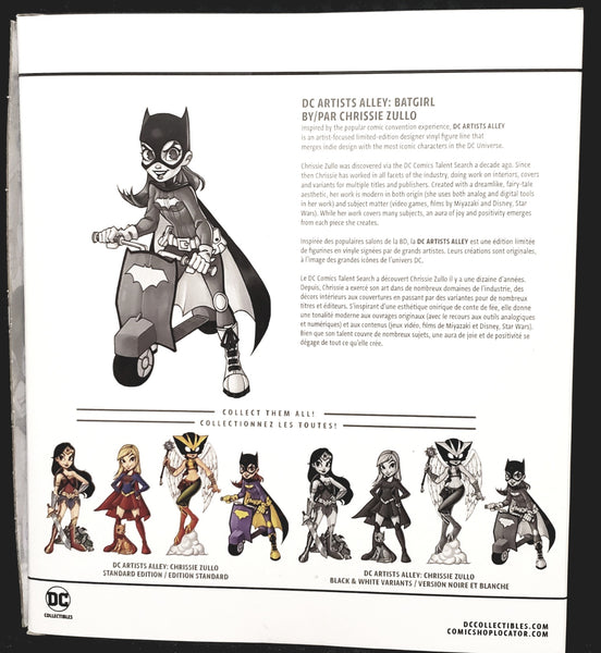 DC Artists Alley Batgirl Black & White Joker Variant by Zullo Vinyl Figure