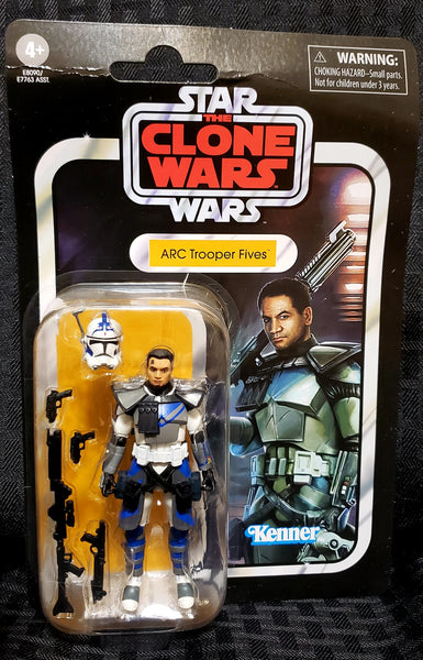 Star Wars The Vintage Collection Arc Trooper Fives 3.75-Inch Figure Bent Card