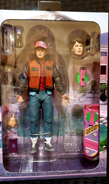 Neca Back to the Future 2 Marty Mcfly Ultimate 7-Inch Scale Action Figure