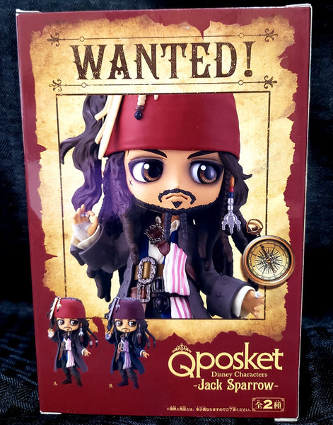 Disney Pirates of the Caribbean Jack Sparrow Q-Posket (Ver. A) Figurine