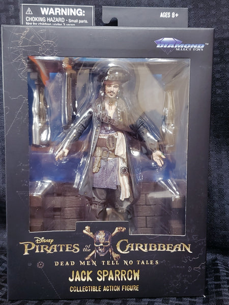 Diamond Select Pirates of the Caribbean Jack Sparrow 7-Inch Action Figure