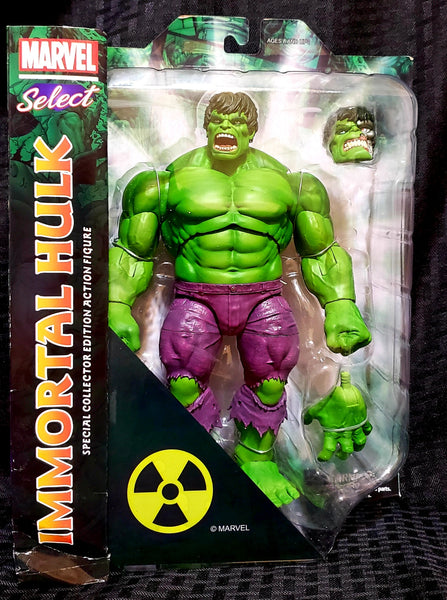 Marvel Select Rampaging Immortal Hulk 10-Inch Action Figure