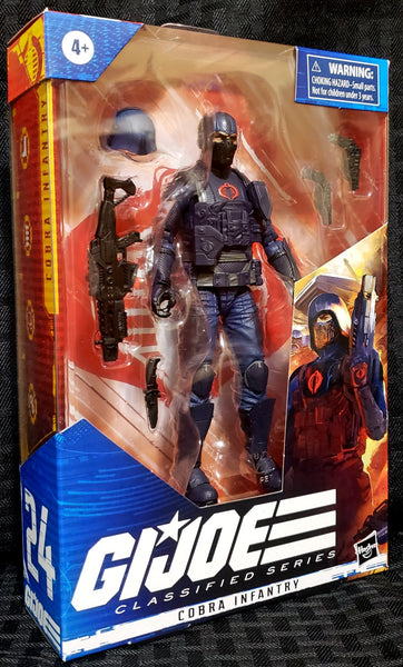 Gi Joe Classified Series Cobra Infantry 6-Inch Action Figure