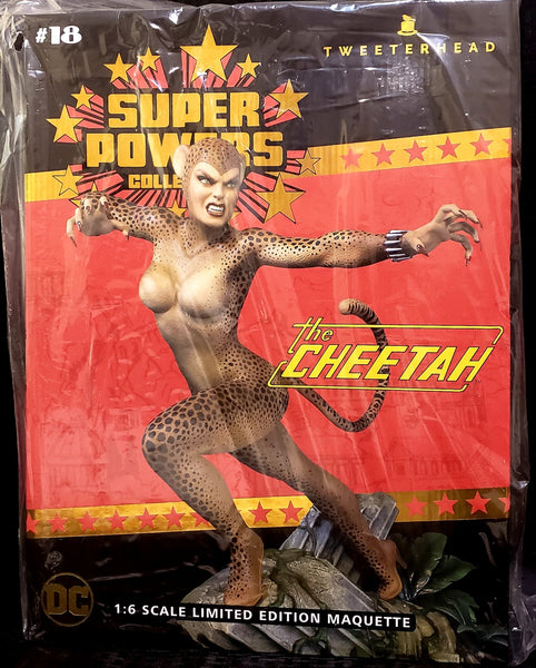 Tweeterhead Cheetah DC Super Powers 1:6 Scale Maquette Statue