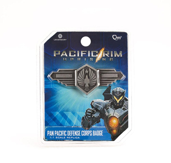 QMx Pacific Rim Pan Pacific Defense Corps Badge Official Replica, Popular Characters- Have a Blast Toys & Games