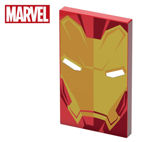 4000mAh Marvel Iron Man Power Bank, DC Comics- Have a Blast Toys & Games