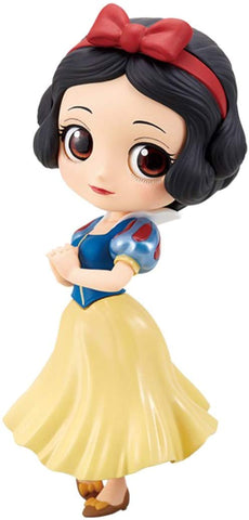 Disney Q-Posket Snow White Normal Color Figurine, Girl Power- Have a Blast Toys & Games