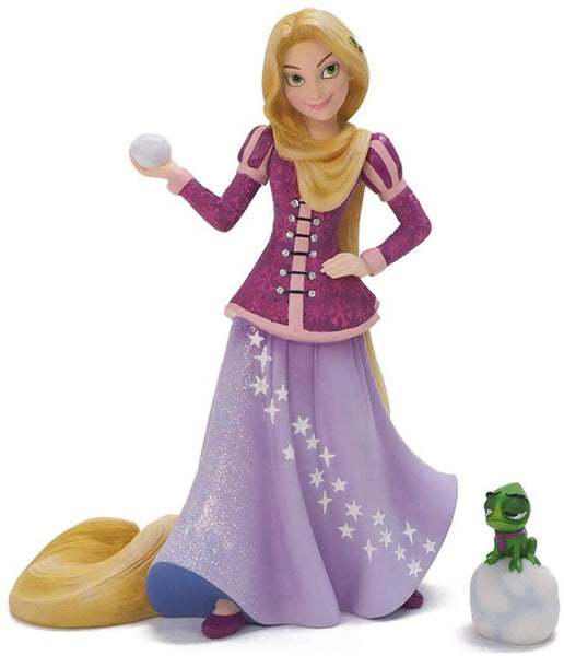 Enesco Disney Couture de Force Holiday Rapunzel and Pascal Figurine