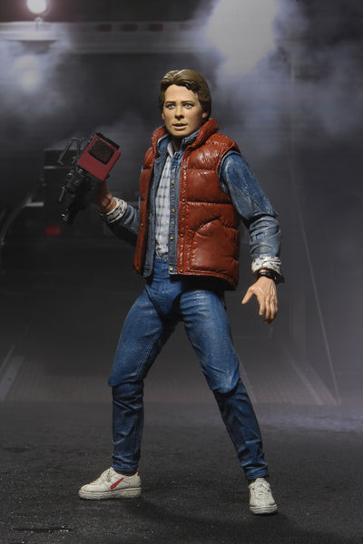 Neca Back to the Future Marty Mcfly Ultimate 7-Inch Scale Action Figure