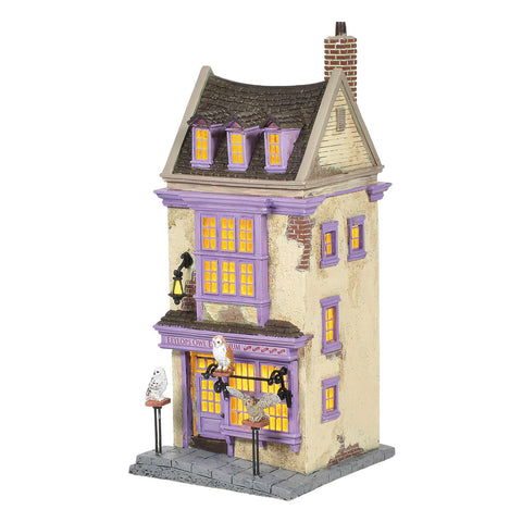 Department 56 Harry Potter Village Eeylops Owl Emporium, Popular Characters- Have a Blast Toys & Games
