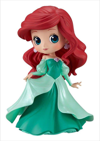 Disney The Little Mermaid Q-Posket Ariel Green Dress Figurine, Girl Power- Have a Blast Toys & Games