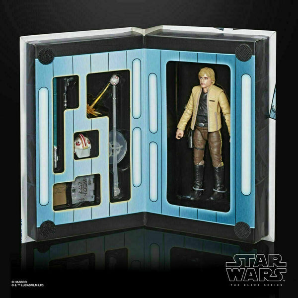 Star Wars The Black Series Luke Skywalker Skywalker Strikes 6-Inch Exclusive Figure, Star Wars- Have a Blast Toys & Games