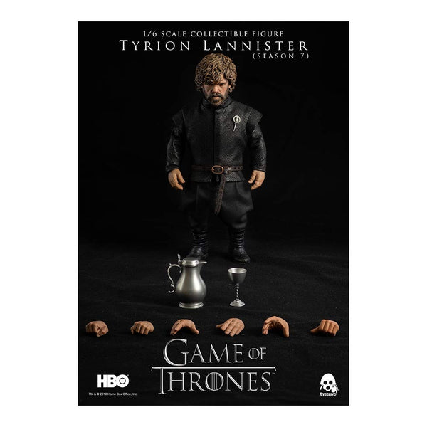 ThreeZero Game of Thrones Tyrion Lannister Season 7 1:6 Scale Figure, Popular Characters- Have a Blast Toys & Games