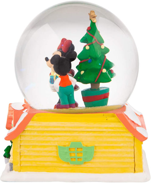 Department 56 Mickey & Minnie Christmas Lit Waterball