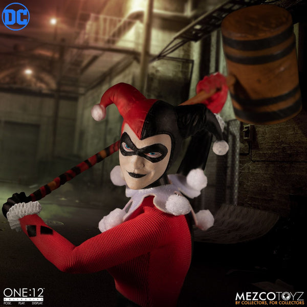 Mezco One:12 Collective Harley Quinn Deluxe Action Figure, Marvel- Have a Blast Toys & Games