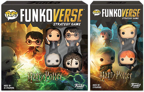 Funko Pop Funkoverse Harry Potter Base 100 & Expandalone 101 Game Set of 2, Popular Characters- Have a Blast Toys & Games
