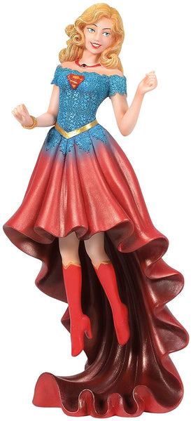 Enesco DC Comics Couture de Force Supergirl Figurine, Popular Characters- Have a Blast Toys & Games