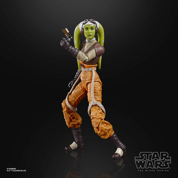 Star Wars The Black Series Hera Syndulla Rebels 6-Inch Action Figure