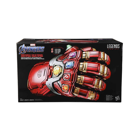 Marvel Legends Series Avengers Endgame Power Gauntlet Articulated Electronic Replica, Marvel- Have a Blast Toys & Games