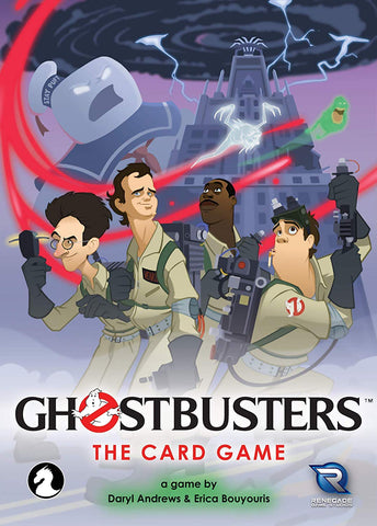 Renegade Studios Ghostbusters Card Game, Popular Characters- Have a Blast Toys & Games