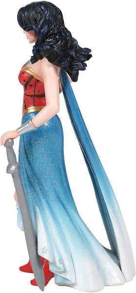 Enesco DC Comics Couture de Force Wonder Woman Figurine, Popular Characters- Have a Blast Toys & Games