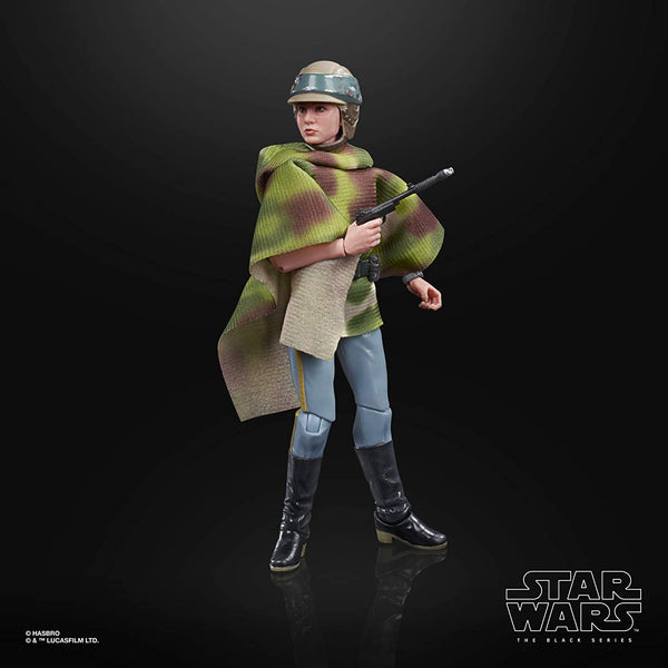 Star Wars The Black Series Princess Leia Organa Endor 6-Inch Action Figure