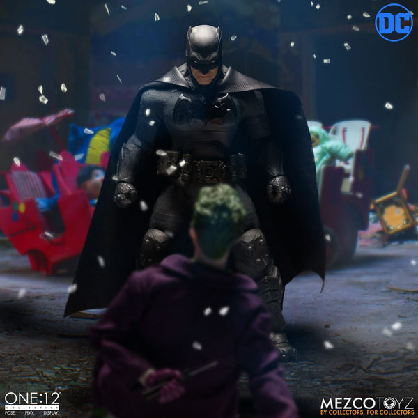 Mezco One:12 Collective Batman Supreme Knight Action Figure, DC Comics- Have a Blast Toys & Games