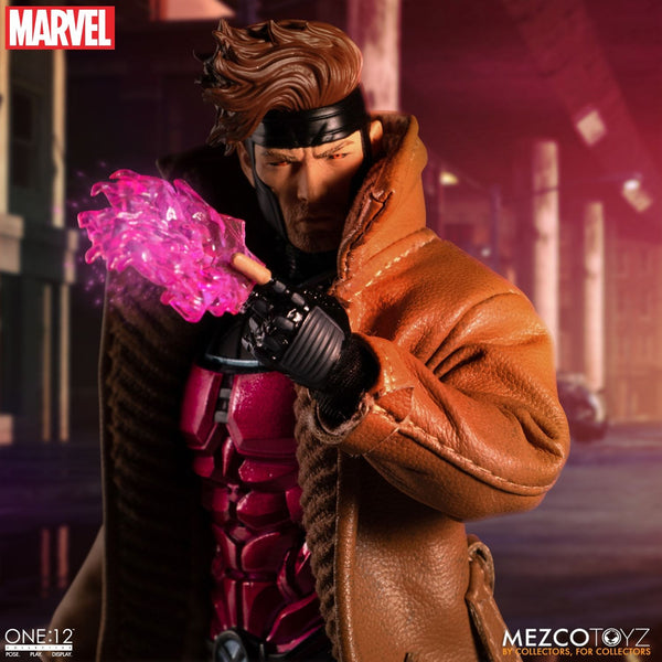 Mezco One:12 Collective Gambit Marvel Action Figure, Marvel- Have a Blast Toys & Games