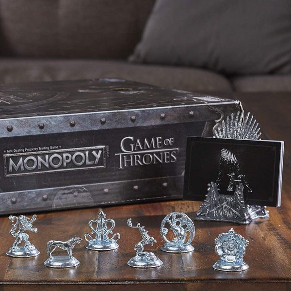 Monopoly Game of Thrones Edition Adult Board Game, Popular Characters- Have a Blast Toys & Games