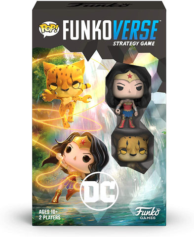 Funko Pop Funkoverse DC Comics Wonder Woman Expansion 102 Game