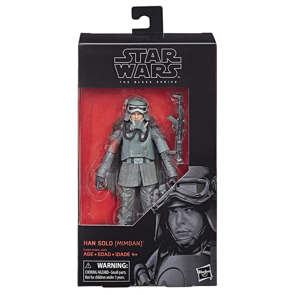 Star Wars The Black Series Han Solo (Mimban) 6-Inch Action Figure, Star Wars- Have a Blast Toys & Games