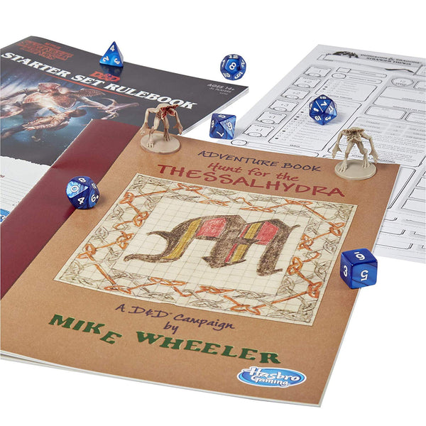 Stranger Things Dungeons & Dragons Roleplaying Game Starter Set, Popular Characters- Have a Blast Toys & Games