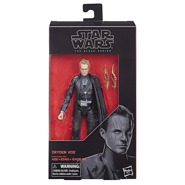 Star Wars The Black Series Dryden Vos 6-Inch Action Figure, Star Wars- Have a Blast Toys & Games