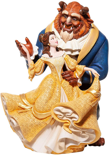 Enesco Disney Couture de Force Beauty and the Beast Dance Figurine