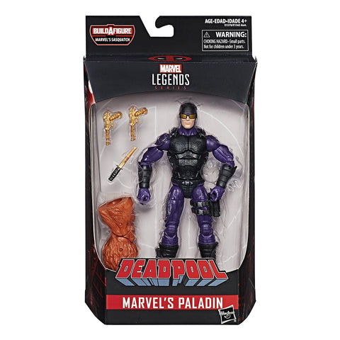 "Marvel Legends Deadpool Series Paladin 6"" Figure, Marvel- Have a Blast Toys & Games"