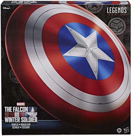 Marvel Legends Falcon and Winter Soldier Captain America Replica Shield