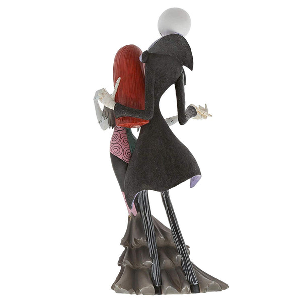 Enesco Disney Showcase Couture de Force Jack and Sally Deluxe Figurine, Popular Characters- Have a Blast Toys & Games