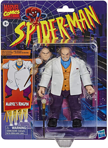Marvel Legends Kingpin Spider-Man Retro 6-Inch Action Figure
