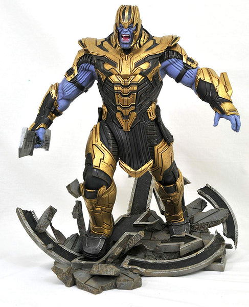 Marvel Milestones Avengers Endgame Armored Thanos Statue, Marvel- Have a Blast Toys & Games