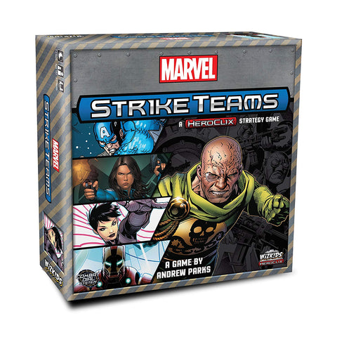 Marvel Strike Teams Strategy Game, Marvel- Have a Blast Toys & Games