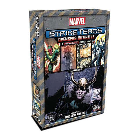 Marvel Strike Teams Strategy Game Avengers Initiative Expansion, Marvel- Have a Blast Toys & Games