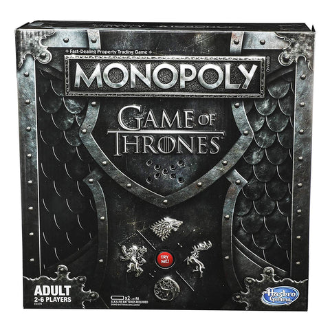 Game of Thrones Monopoly Adult Board Game, Popular Characters- Have a Blast Toys & Games