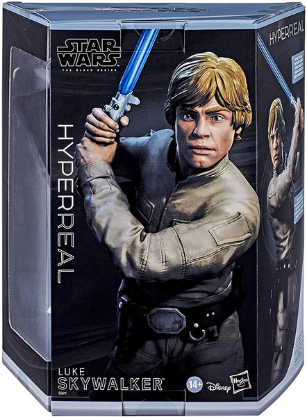 Star Wars The Black Series Hyperreal Luke Skywalker 8-Inch Figure