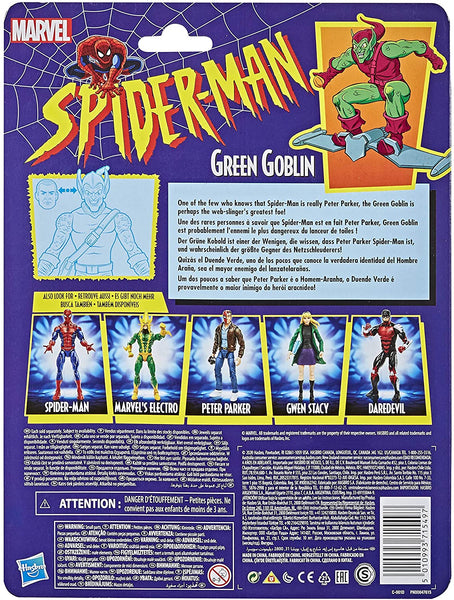 Marvel Legends Green Goblin Spider-Man Retro 6-Inch Action Figure