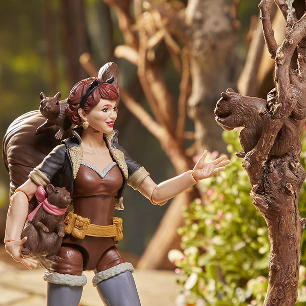 Marvel Legends The Unbeatable Squirrel Girl Deluxe 6-Inch Action Figure