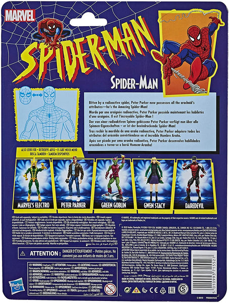 Marvel Legends Spider-Man Retro 6-Inch Action Figure