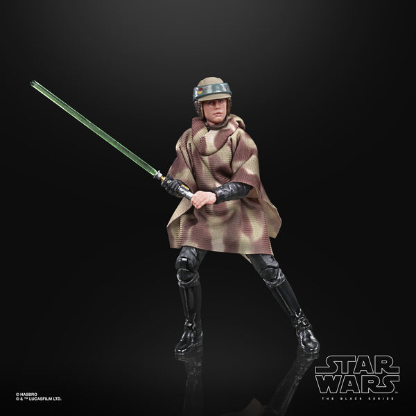 Star Wars The Black Series Luke Skywalker Endor 6-Inch Action Figure