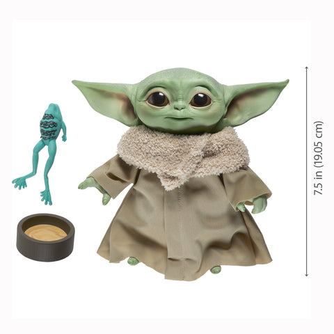 Star Wars The Child (Baby Yoda) Talking 7.5-Inch Plush, Popular Characters- Have a Blast Toys & Games