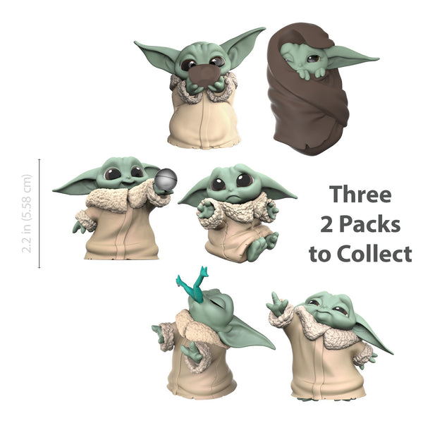 Star Wars The Bounty Collection The Child Soup & Blanket 2.2-Inch Figure Set, Popular Characters- Have a Blast Toys & Games